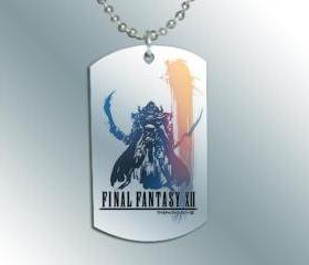FINAL FANTASY XII 2 Dog Tag Necklace